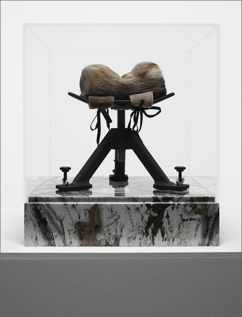 Untitled (Rifle Rest)